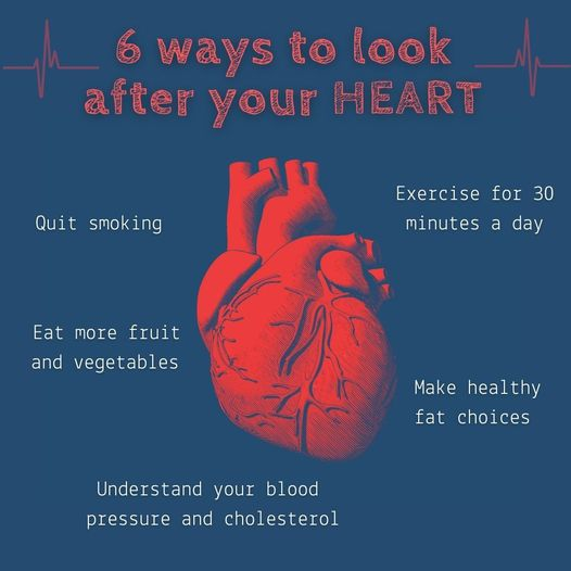 Don't forget your heart   Keeping your heart healthy is something you can work o…